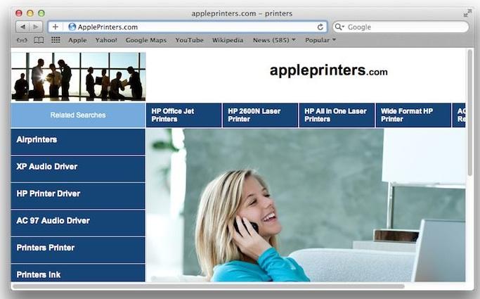 Apple dichiara guerra agli occupanti abusivi dei nomi dominio