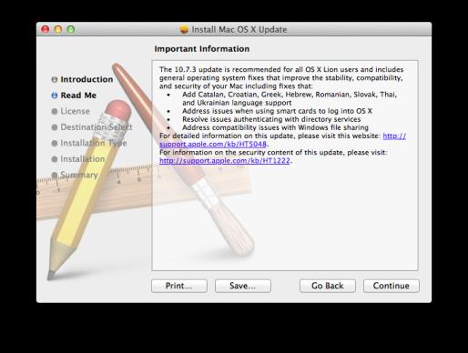 Apple rilascia OS X 10.7.3 Build 11D46 per gli sviluppatori