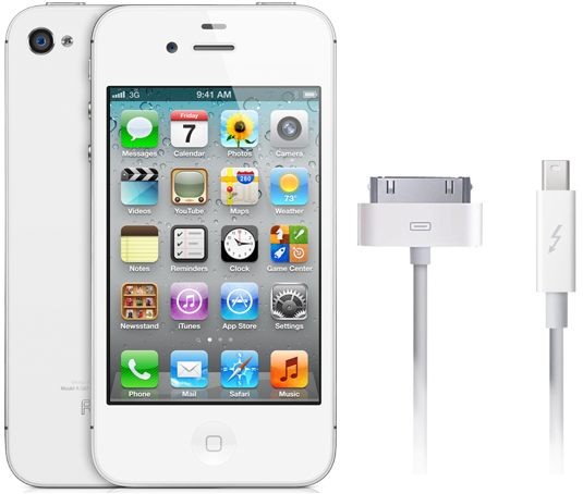 iphone,thunderbolt,connettore,supporto