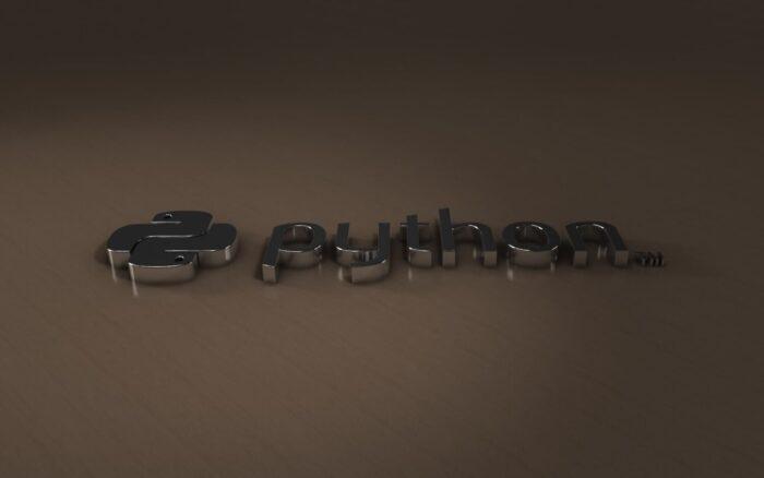sfondo di python con legno e metallo